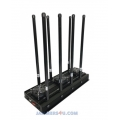 CT-3080N 8 Antenna High Power 175W 3G 4G WIFI VHF UHF RC GPS Jammer up to 150m
